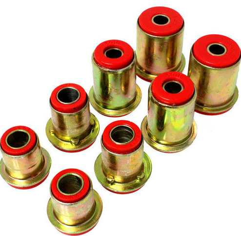 Control Arm Bushing Set: 75-77 models - FRONT End