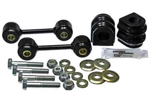 Rear Sway Bar bushing set complete: 2010 Camaro