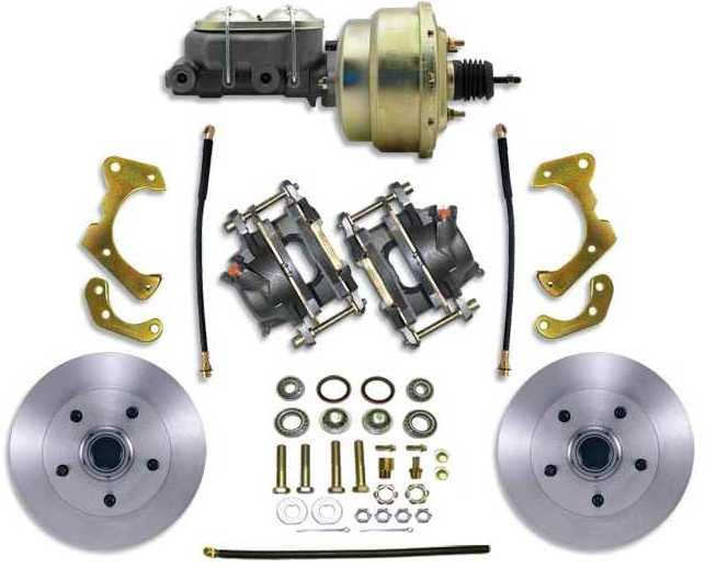 Disc Brake Kit: 65-68 Chevy/Pontiac Full Size