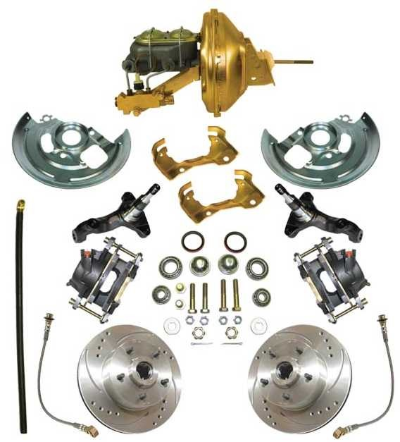 Disc Brake Kit: Complete 64-72 GTO /LeMan / Chevelle / El Camino