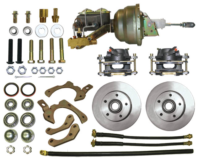 Disc Brake Kit: 59-64 Full Size full front Kit