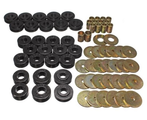 Body Mount Kit: 65-67 Chevelle, Cutlass, Skylark