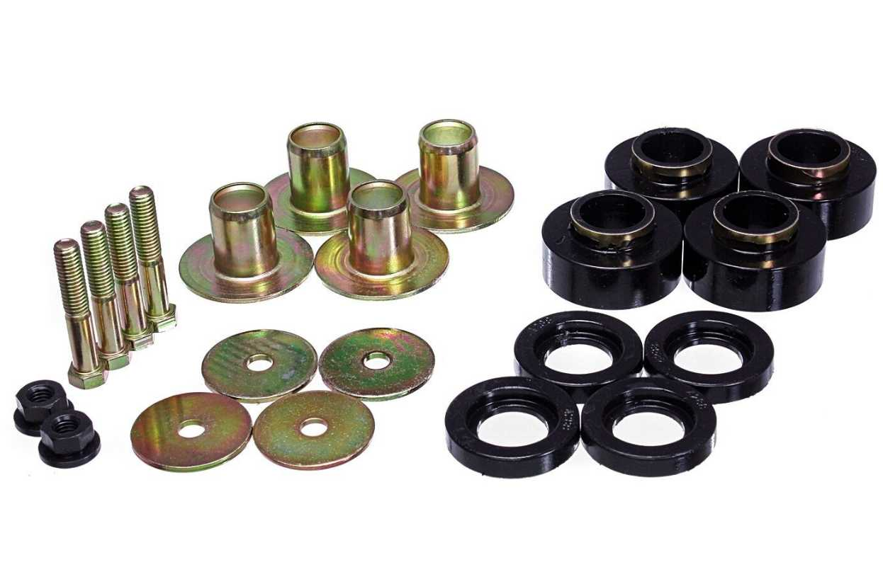 Body Mount Kit: 68-72 Chevelle BB Additionals