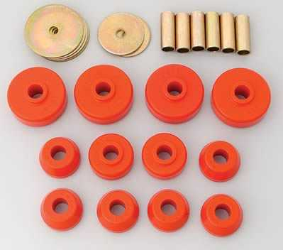 Scout  72-81: Body Mount Kit