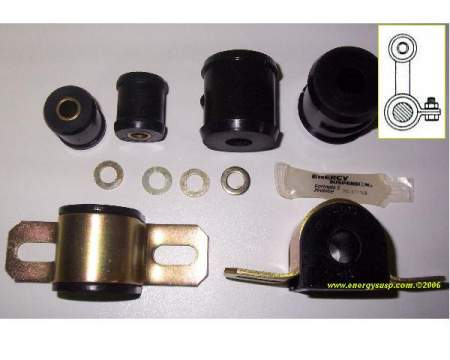 Rear Sway Bar Bushing Kit: 67-81F (Single bolt)