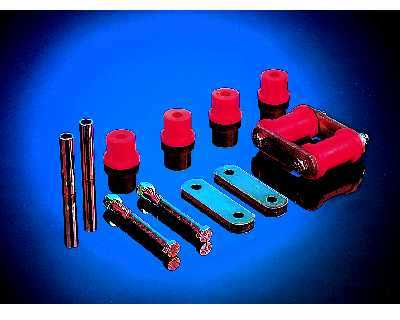 Rear Shackle Kit: Mono 67-69F w/Hardware